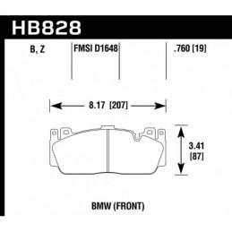 HB828Z.760 Ceramic Brake Pads