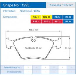 Pagid Racing Brake Pads